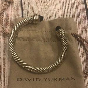 David Yurman 7mm Black Onyx cable bracelet